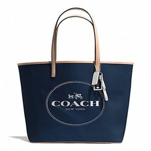 COACH Metro Horse & Carriage Tote